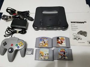 N64 nintendo with 4 games for Sale in Federal Way, WA