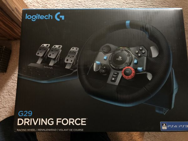 Logitech G29 Gaming wheel for Sale in Medina, OH - OfferUp
