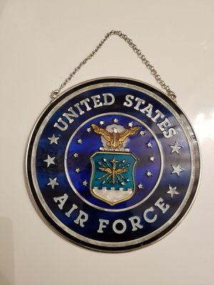 """Amia Suncatcher United States Air Force 4 3/4"""" Round for Sale in Dale City, VA"""