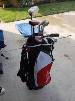 Power Bilt golf bag w/ Taylor Made clubs for Sale in Cerritos, CA