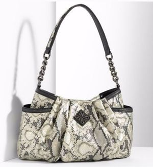 Photo Simply Vera * Vera Wang Python print Hobo