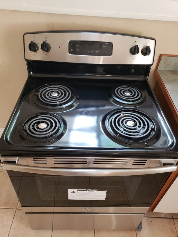 Ge Stainless Steel Electric Stove