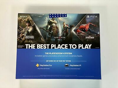 NEW Sony PlayStation Ps4 1TB Slim Gaming Console Black -CUH-2215B