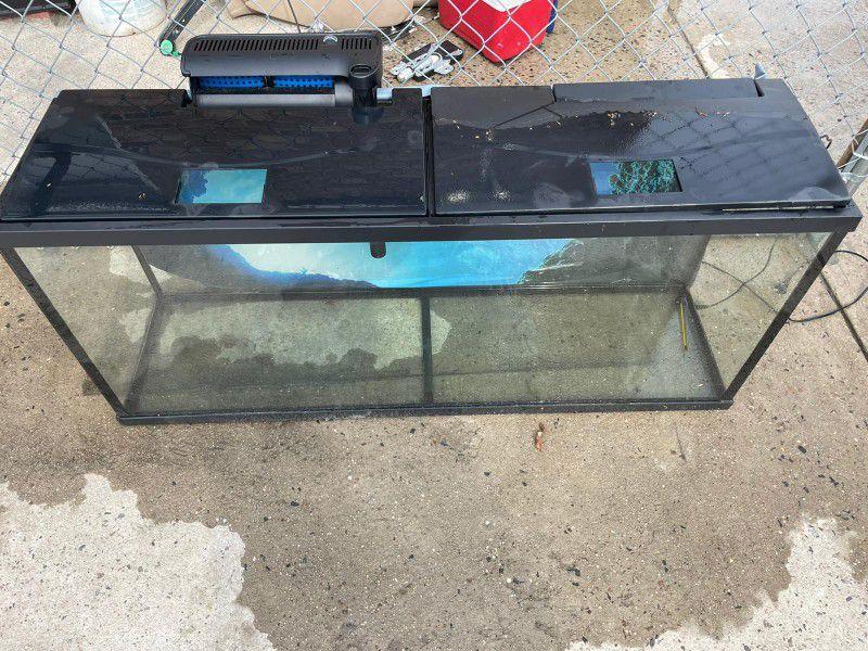 55 gallon tank $150