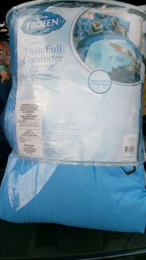 Twin /full comforter. Paid 69.99 for Sale in TN, US