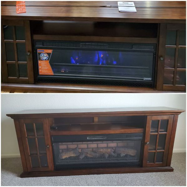 Tresanti Grant 72in Fireplace Console For Sale In Colorado Springs Co Offerup