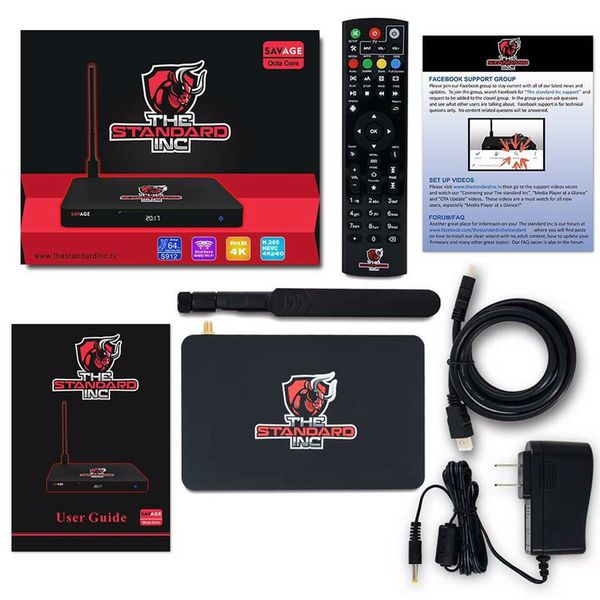 """The Savage """"The Standard Inc"""" Streaming Box for Sale in"""