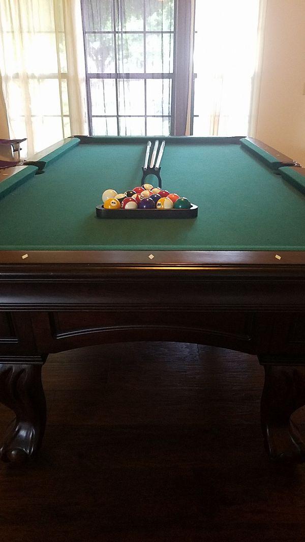 Like New Thomas Aaron Pool Table Wques Pool Sticks For Sale In - Thomas aaron pool table