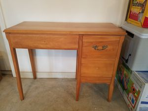Wooden console table with 3 drawers for Sale in Silver Spring, MD