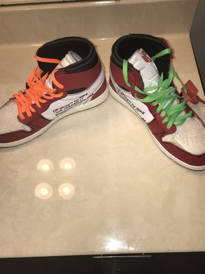 Off white Jordan 1's for Sale in Odenton, MD