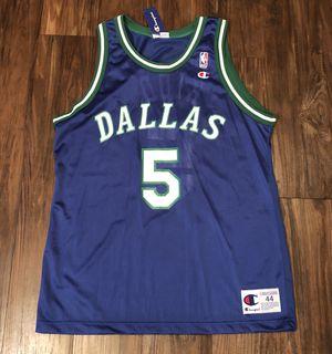 buy popular f3dea 01de4 Vintage 90s Jason Kidd Dallas Mavericks Jersey Retro Throwback Sz 44 Mens  for Sale in San Antonio, TX - OfferUp