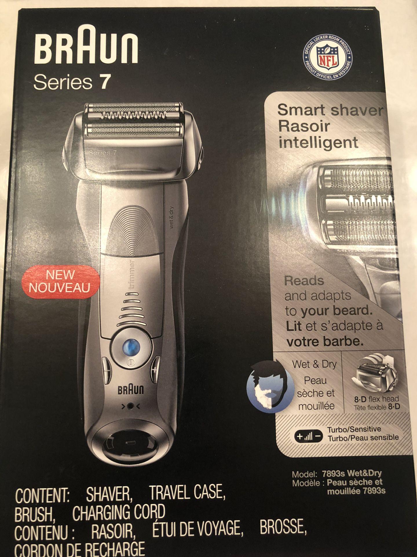Braun 7 series shaver