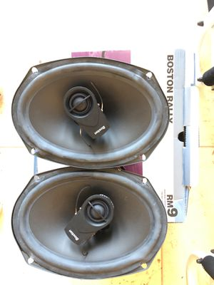 Boston Acoustic RM 9 6x9 coaxial speaker for Sale in Palm City, FL