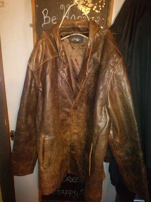 Cherokee 100% leather coat for Sale in Richmond, VA