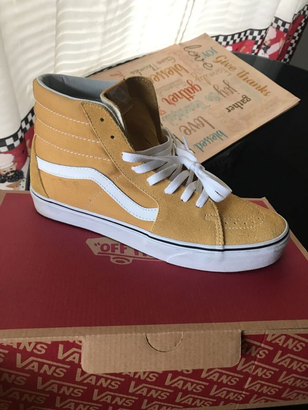 3ac998d079552c Sk8-Hi Ochre  True White Vans for Sale in Cleveland
