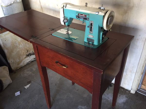 Vintage Brother Sewing Machine Table