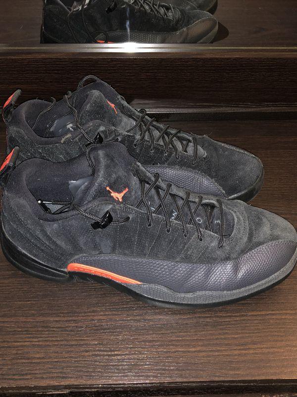 promo code 4cf07 eae36 Air Jordan Retro 12 Low grey orange 10.5