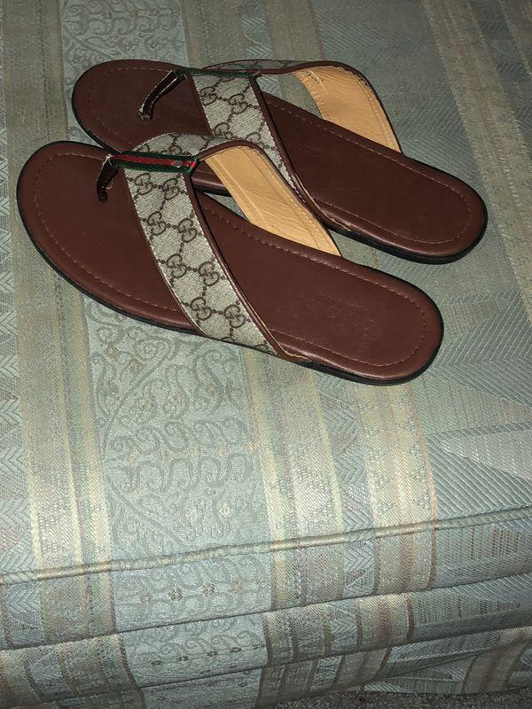 ea63d980a6af Gucci Flip Flops only worn once for Sale in Dayton