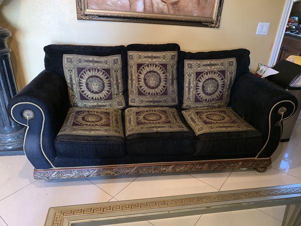 Versace Print Sofa And Love Seat For Sale In Montebello Ca Offerup