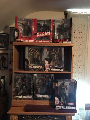 Assorted McFarlane Walking Dead Figures for Sale in Frederick, MD