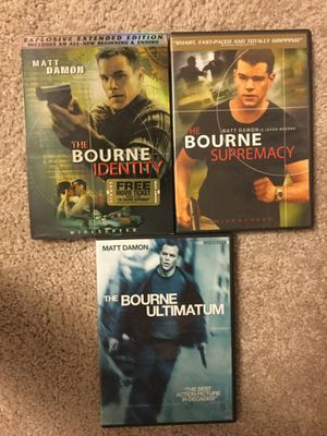 Jason Bourne movies for Sale in New Hill, NC