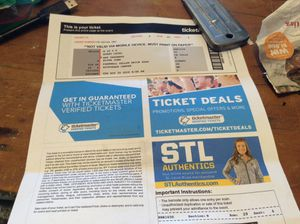 Elton tics/ final tour - on the floor - section 2 seat 28 seats 3&4 for Sale in St. Louis, MO