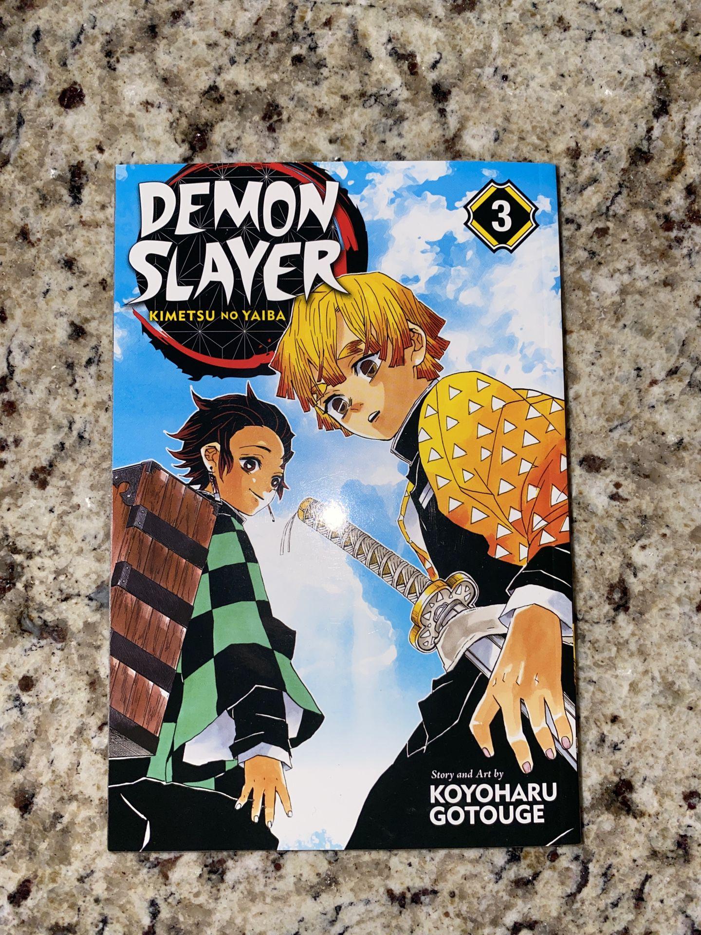 Demon Slayer: Kimetsu no Yaiba, Vol 3