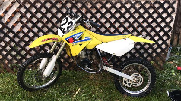 Dirt bike 2006 suzuki rm85l