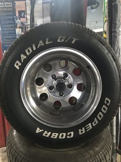 Selling 15x10 inch rims and tire size 295-50-15 $650 Thumbnail