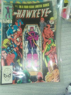 Marvel comic death of Hawkeye for Sale in Detroit, MI