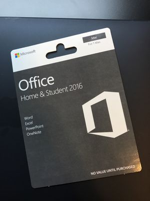 Microsoft Office 365 Home & Student for Mac- life time version for Sale in Seattle, WA