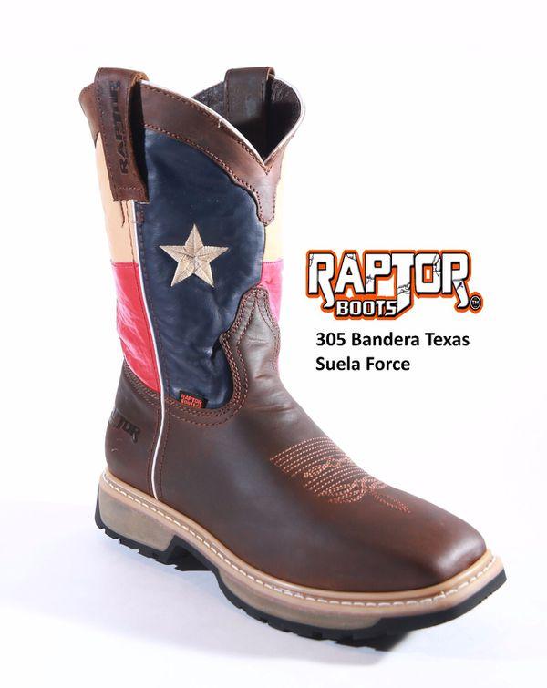 2b86727526 BOTAS DE TRABAJO MARCA RAPTOR CON ACERO Y SIN ACERO for Sale in Houston