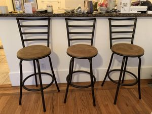 3 bar chairs - like new! for Sale in San Francisco, CA