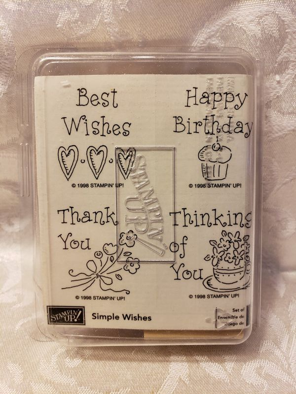 Stampin Up Simple Wishes For Sale In Riverside CA