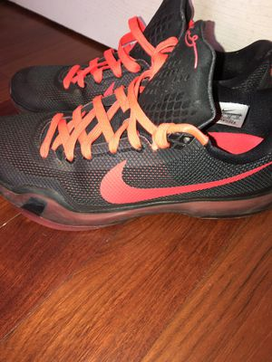 Kobe 10 Size 10 NEGOTIABLE for Sale in Chantilly, VA