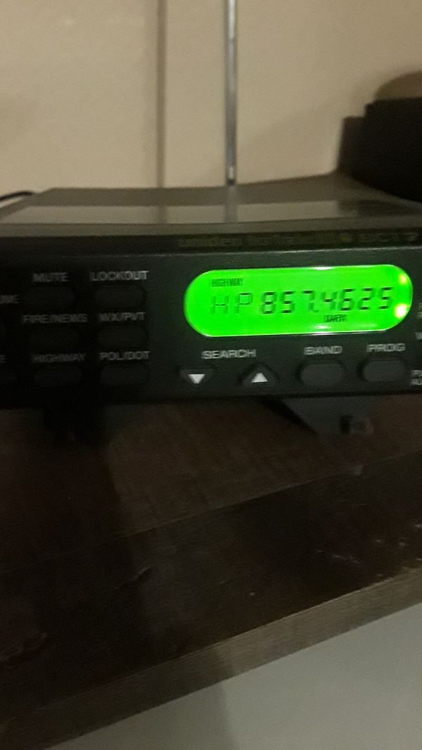 UNIDEN BEAR TRACKER 800 BCT7 for Sale in Lakewood, CA - OfferUp