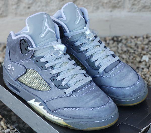 756e9aae9722 Retro Jordan Wolf Grey 5s for Sale in Phoenix