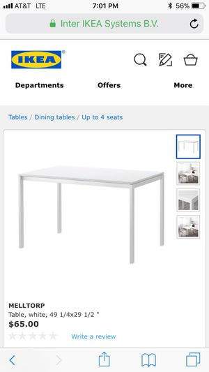 IKEA Melltorp white table for Sale in Los Angeles, CA