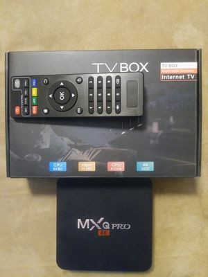 ANDROID 4K TV BOX! Exclusive pro setup self updating with a TV Guide! Does more than a stick! for Sale in Ellenwood, GA