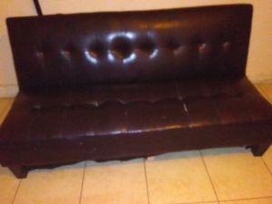 Futon dark brown for Sale in Medley, FL