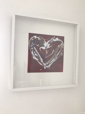 framed heart wall art for Sale in Miami, FL