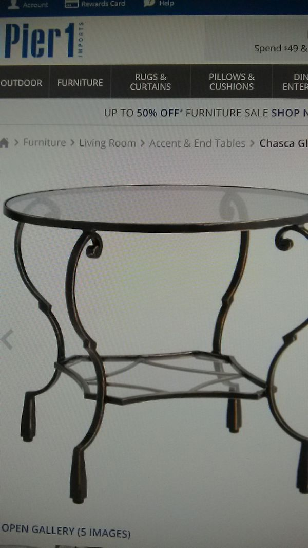 Set Coffee Table 1 End From Pier One