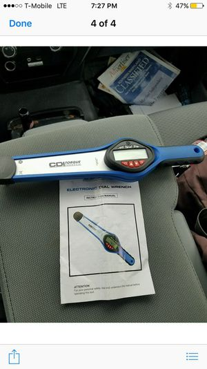 Cdi digital torque wrench for Sale in Bowie, MD