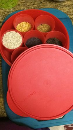 Tupperware masala box Thumbnail