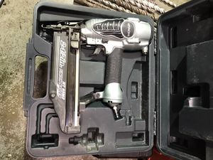 Hitachi finish nailer like new for Sale in Silver Spring, MD