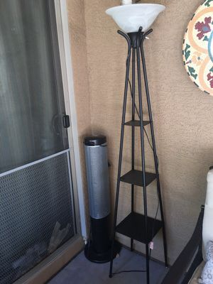 Lamp with shelves for Sale in Phoenix, AZ
