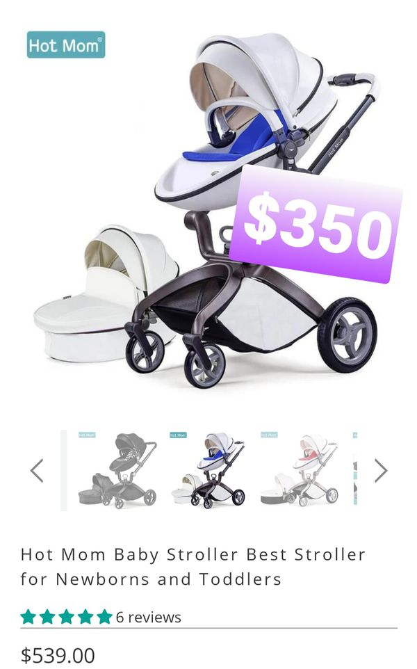 Baby Stroller 2020, Hot Mom Baby Carriage with Bassinet ...