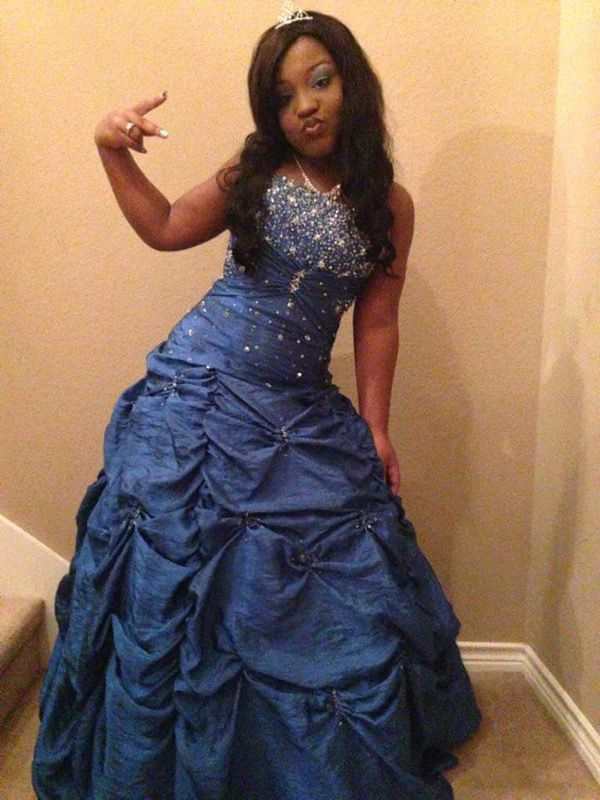 mori lee by madeline gardner prom dress (Clothing & Shoes) in Frisco ...