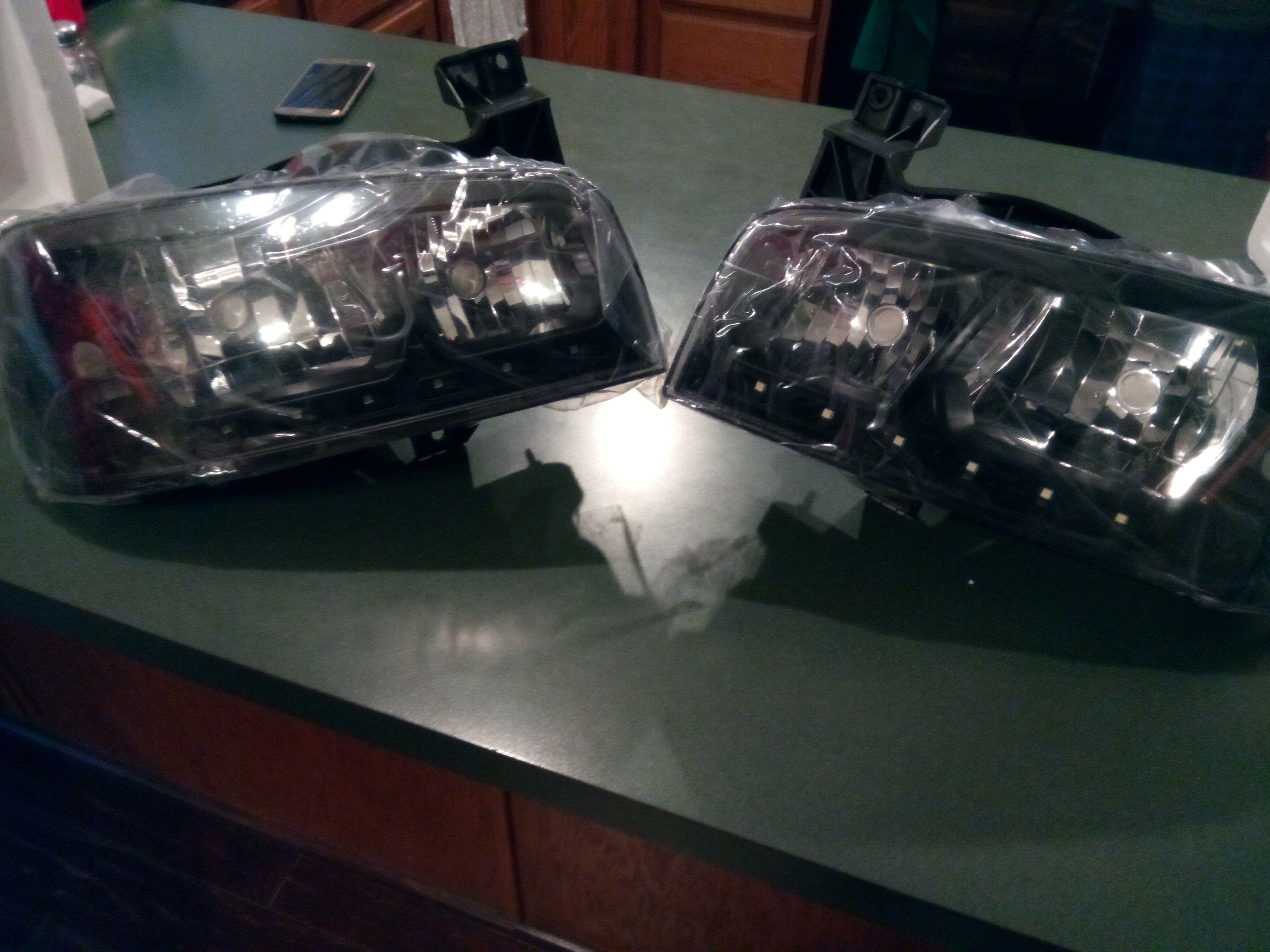 Spec-D charger headlights