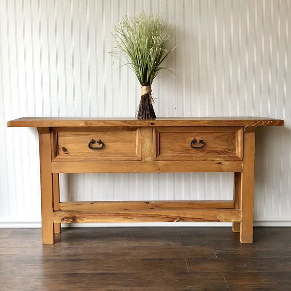 Beautiful Rustico Sofa Table or Entry Table for Sale in Peyton, CO ...